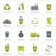 Recycling Garbage Icons Set - GraphicRiver Item for Sale
