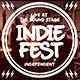 Indie Fest Cola Flyer - GraphicRiver Item for Sale