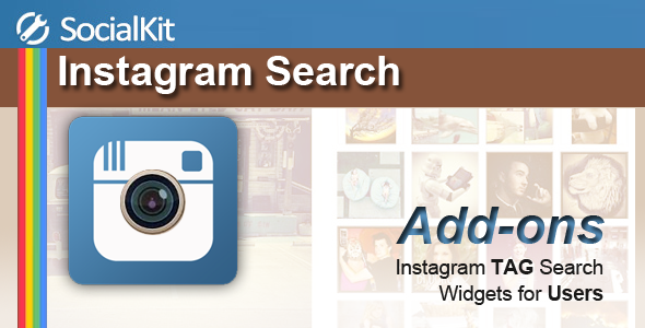 Instagram Search for SocialKit
