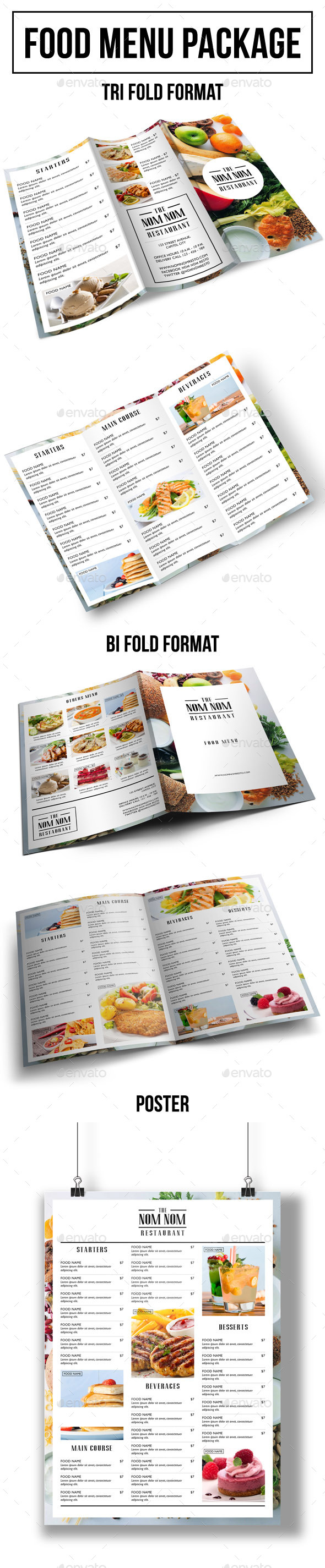 GraphicRiver Food Menu Package 9984726