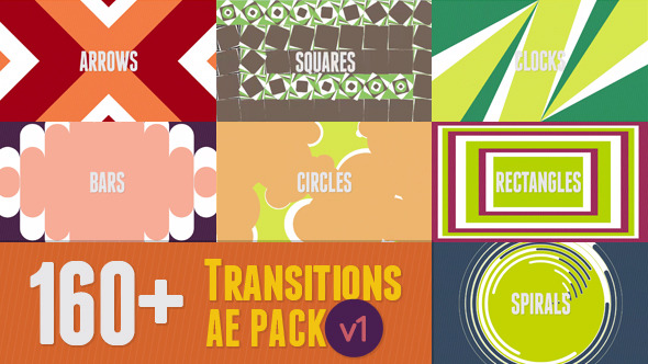 160& AE Transitions Pack v1