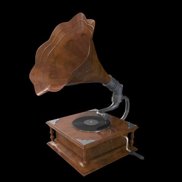 3DOcean Gramophone 9985529