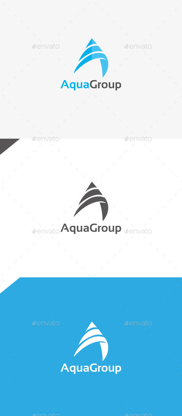GraphicRiver Aqua Group 9985580