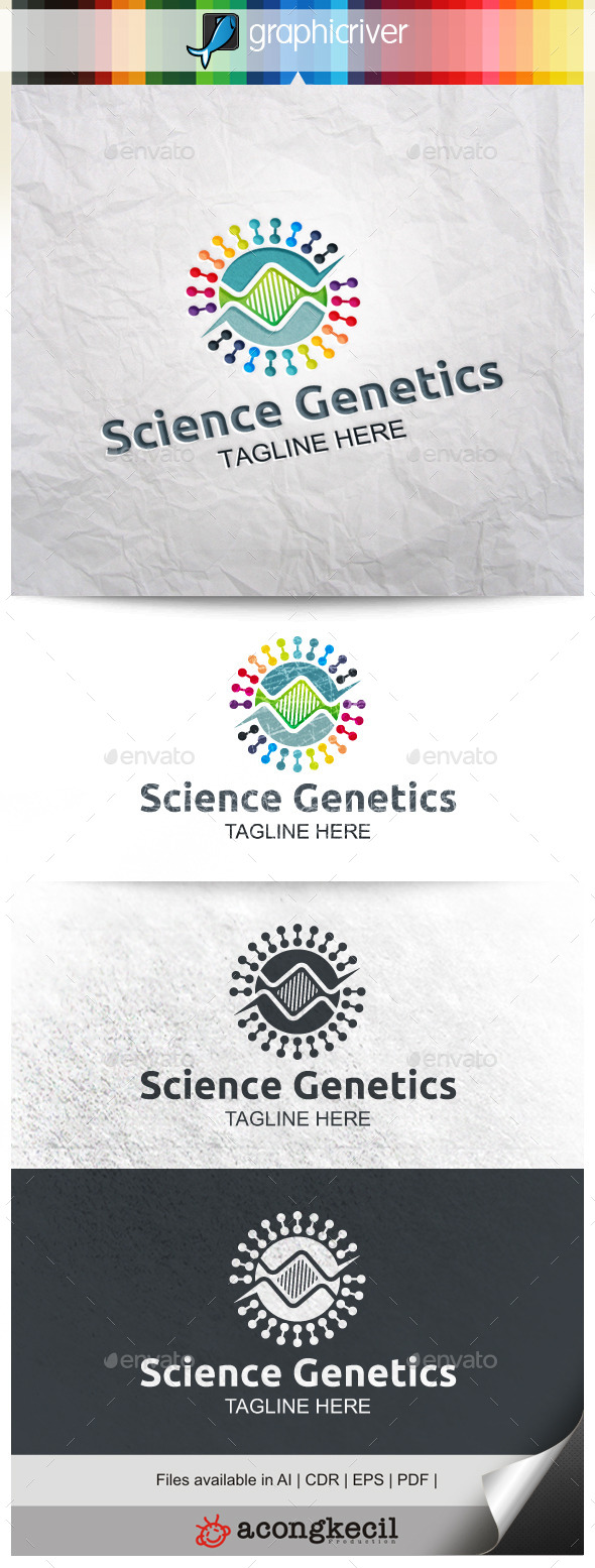 GraphicRiver Science Genetics 9985613