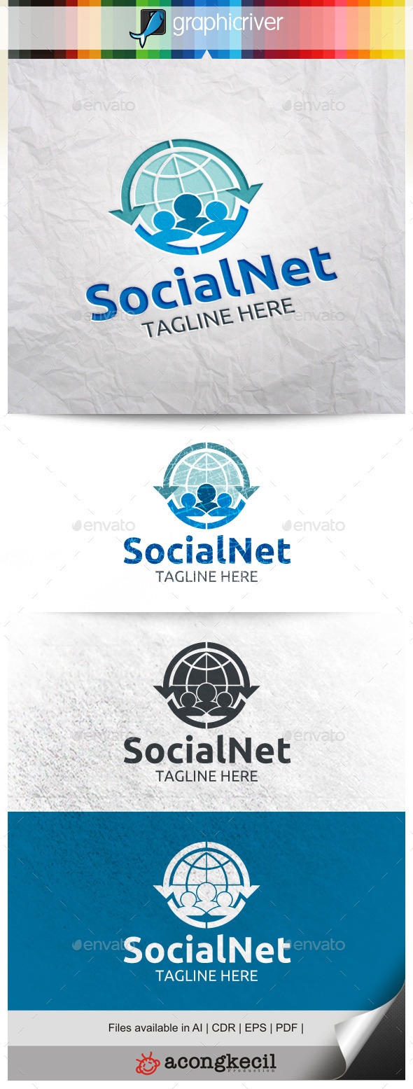 GraphicRiver Social Network 9985660