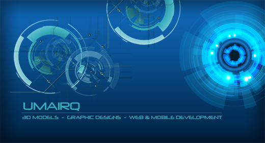 3D portfolio of UmairQ