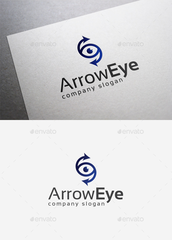Arrow Eye Logo