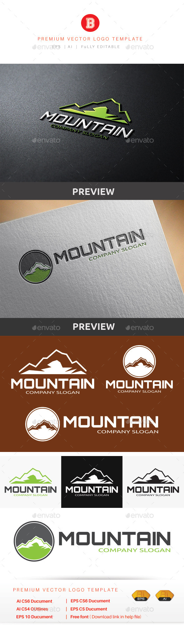 GraphicRiver Mountain V.5 9986765