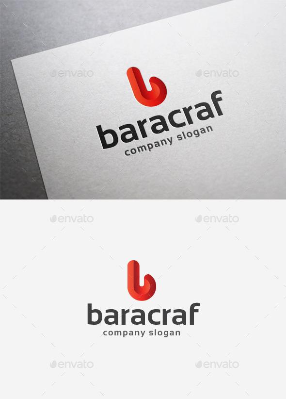 GraphicRiver Baracraf Logo 9986766