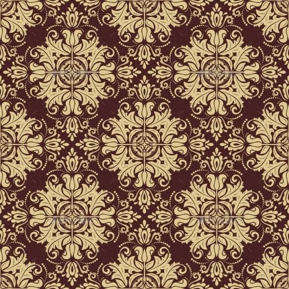 GraphicRiver Damask Seamless Pattern 9986774