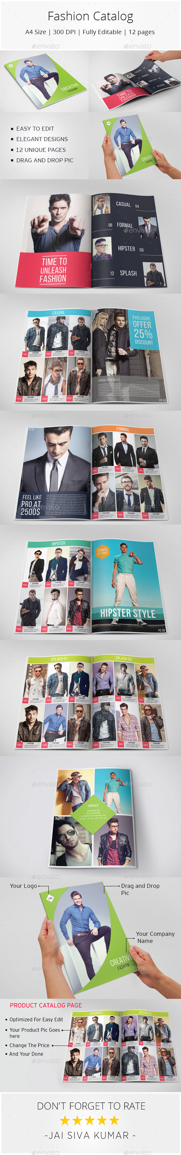 GraphicRiver Fashion Catalog 9986793