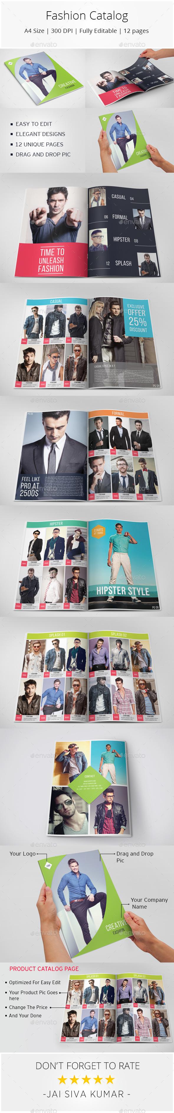 GraphicRiver Fashion Catalog 9986793