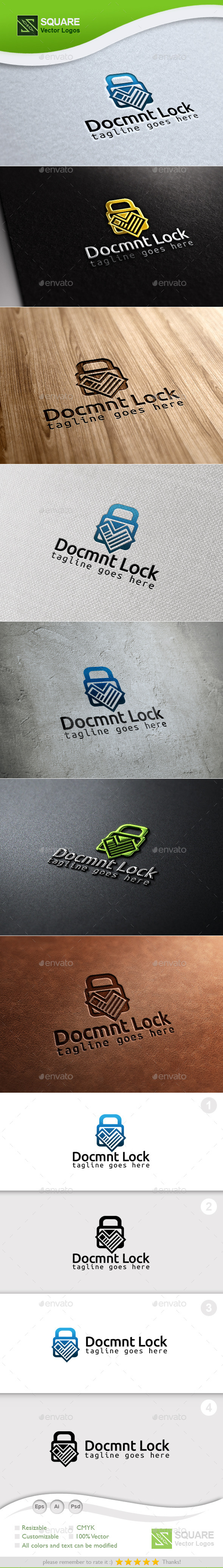 Document Locker Custom Logo Template
