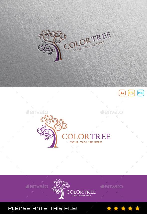 GraphicRiver Tree Logo 9987079
