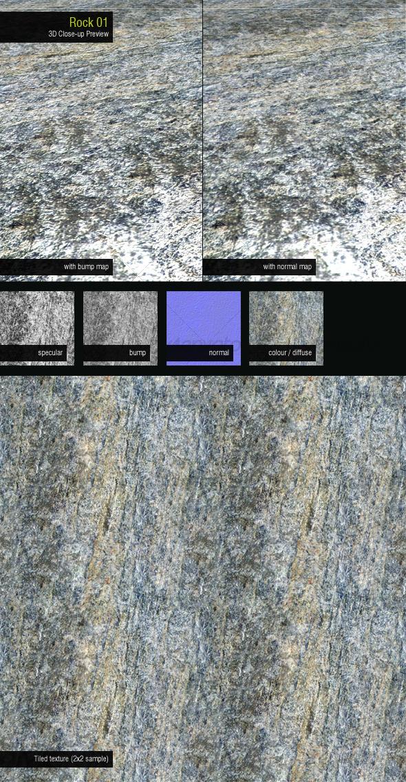 3DOcean Rock 01 126522