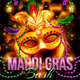 Mardi Gras Bash Flyer Template - GraphicRiver Item for Sale
