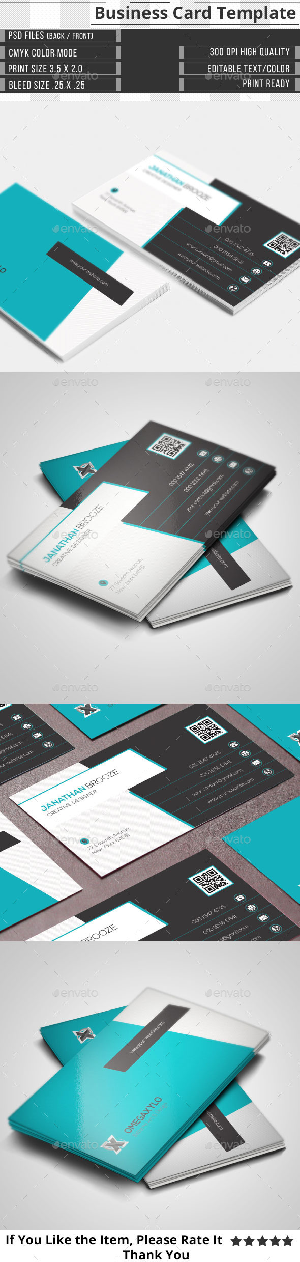 GraphicRiver Creative Corporate Business Card 9987642