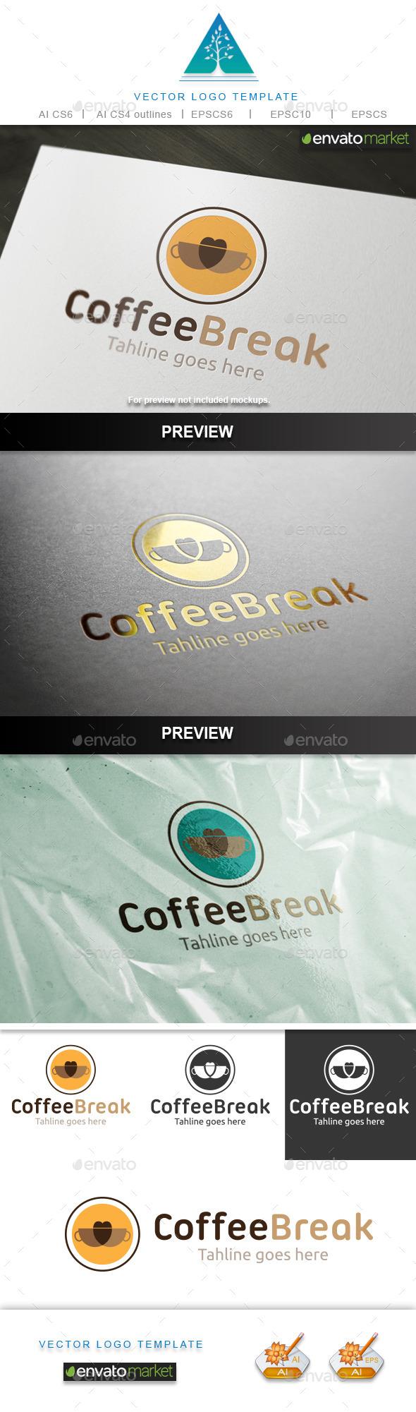 GraphicRiver Coffee Break 2 Logo 9987716