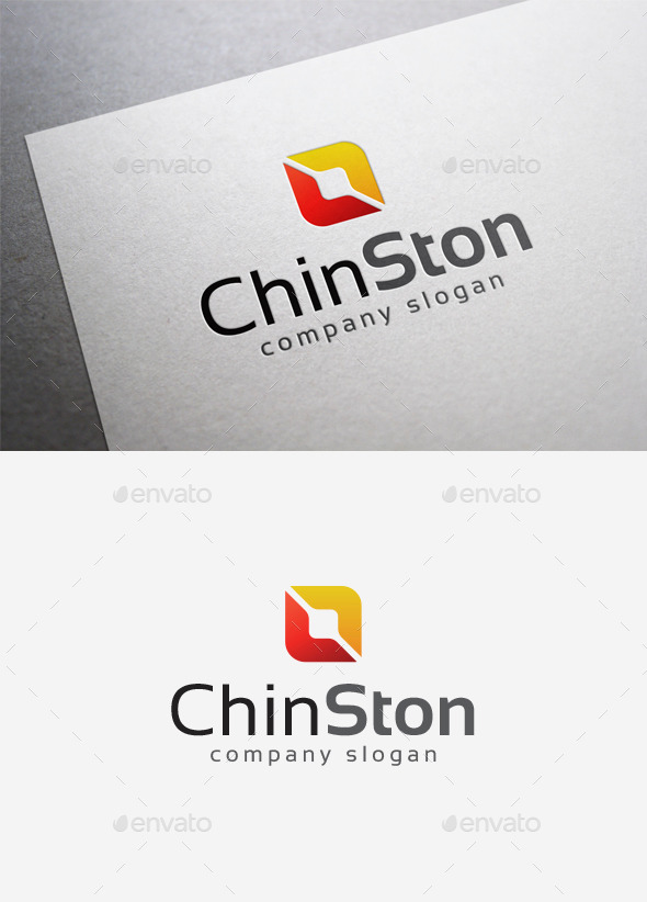 GraphicRiver Chinston Logo 9987735