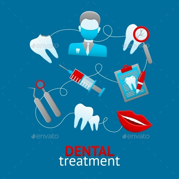 GraphicRiver Dental Design Concept 9988420