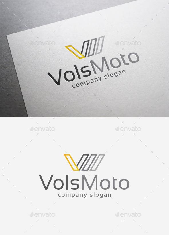 GraphicRiver Vols Moto Logo 9988572