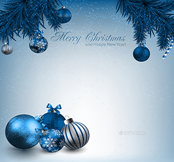 GraphicRiver Merry Christmas Card 9810921