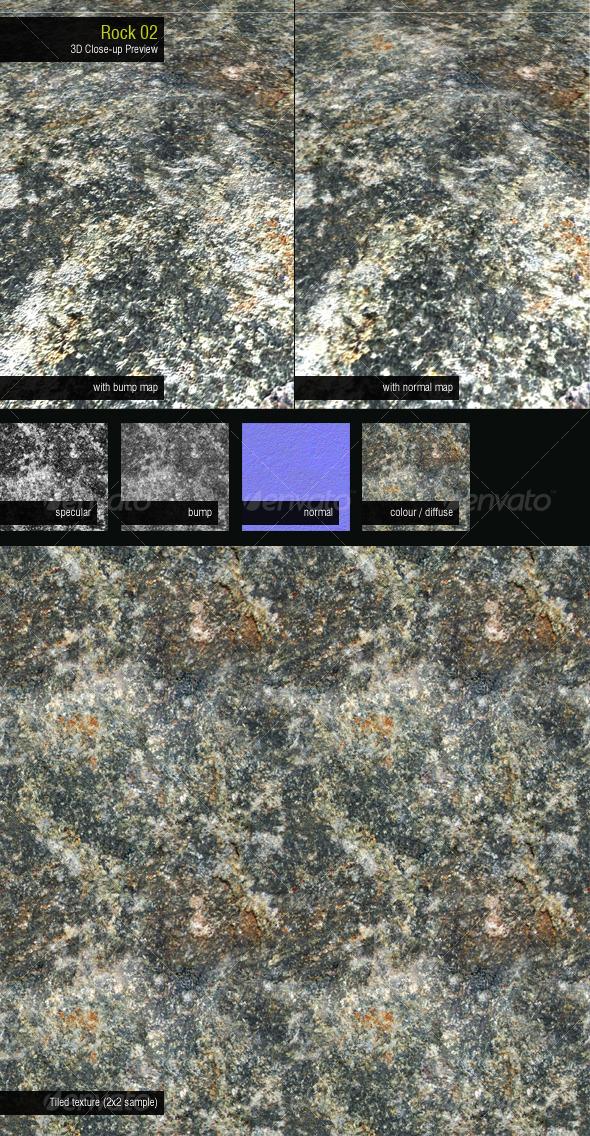 Rock 02 - 3DOcean Item for Sale