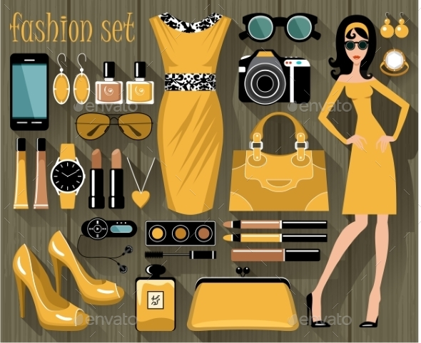 GraphicRiver Fashion Set 9989797