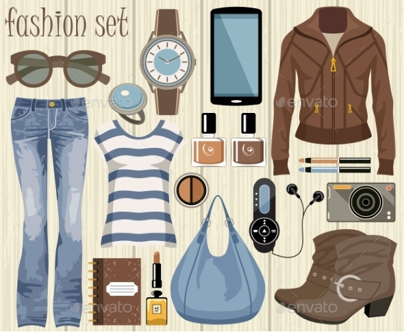 GraphicRiver Fashion Set 9989815