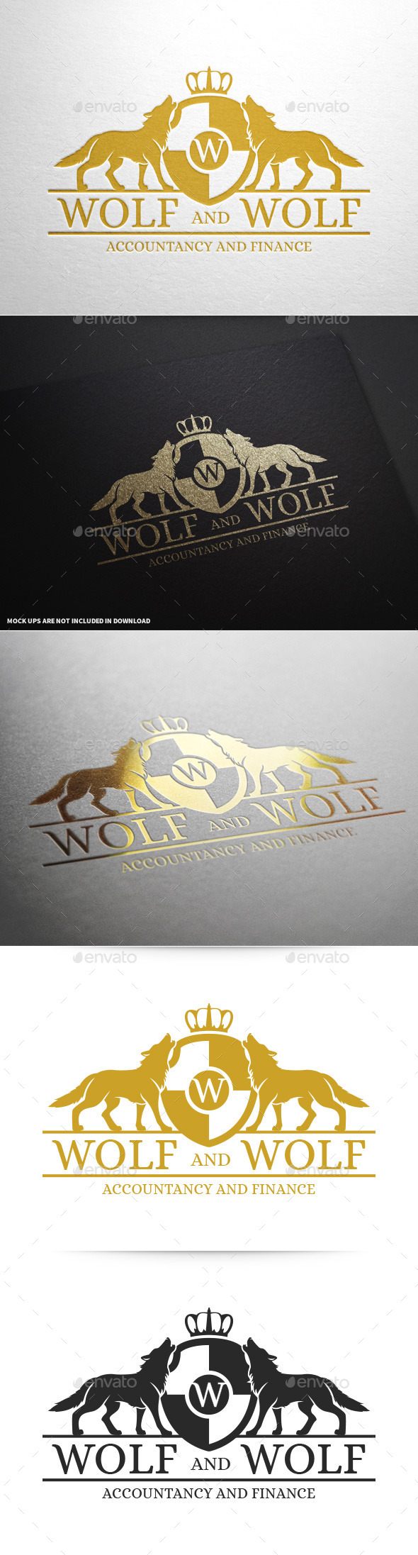 GraphicRiver Royal Wolf Logo Template 9989913