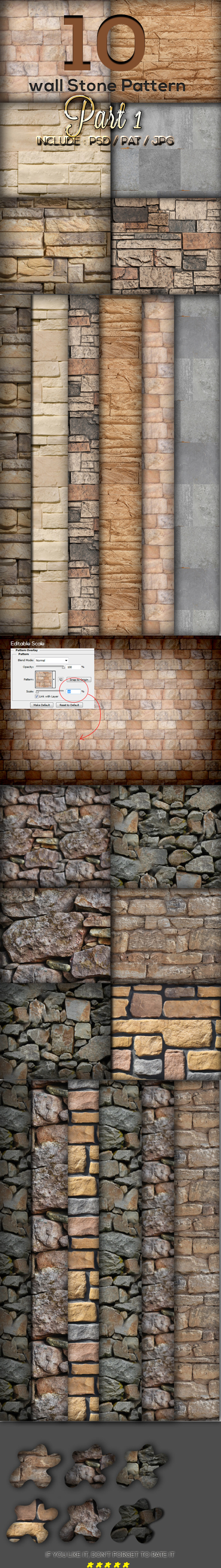 GraphicRiver 10 Wall Stone Pattern Part 1 9990011