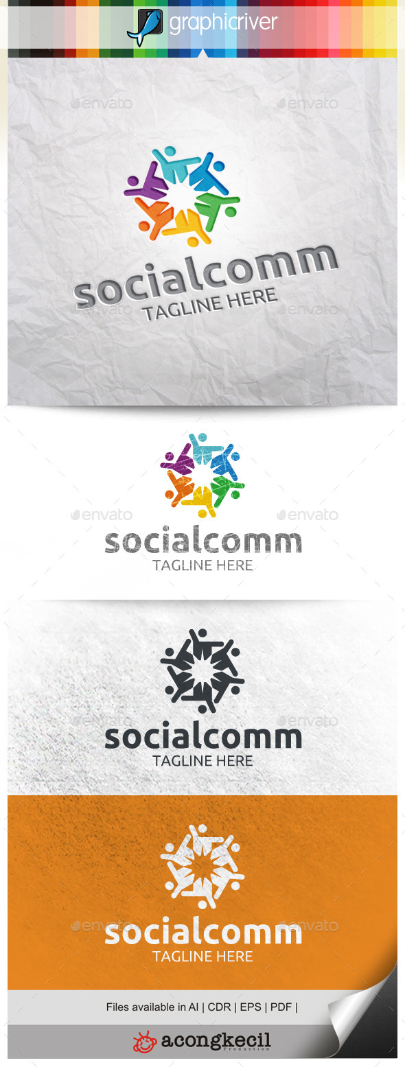 GraphicRiver Social Community V.3 9990085