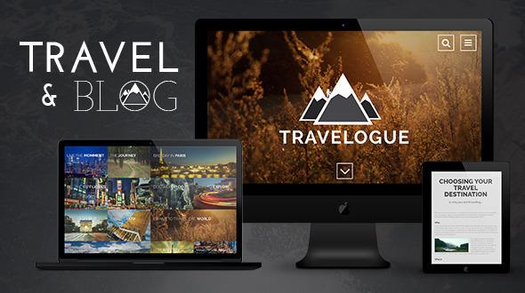 Travelogue Travel Blog HTML Template