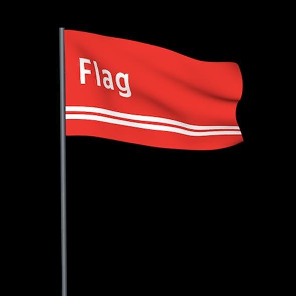 Flag - 3DOcean Item for Sale