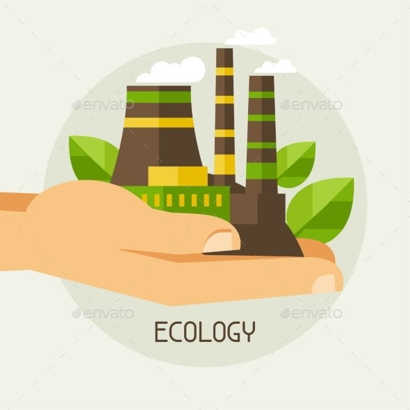 GraphicRiver Ecology Protection Concept 9990384