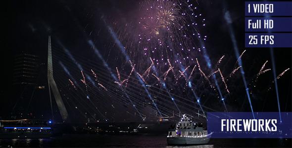 Amazing New Year Fireworks