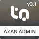 Azan - Bootstrap Responsive Admin Template + 2 Landing Pages - ThemeForest Item for Sale