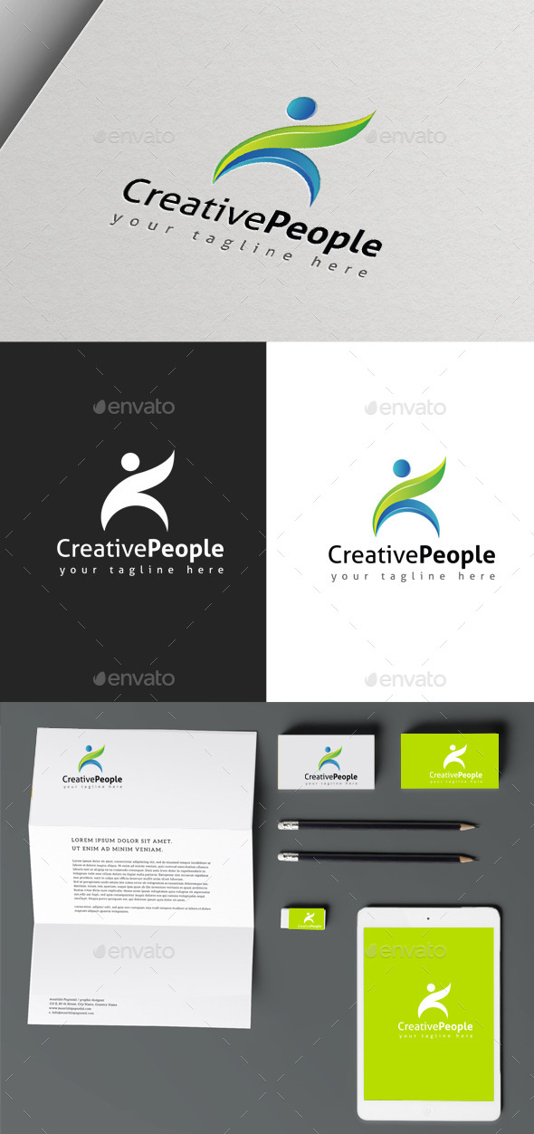 GraphicRiver Creative People 9963446