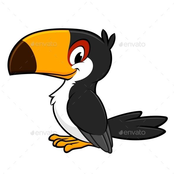 GraphicRiver Cartoon Toucan 9991019