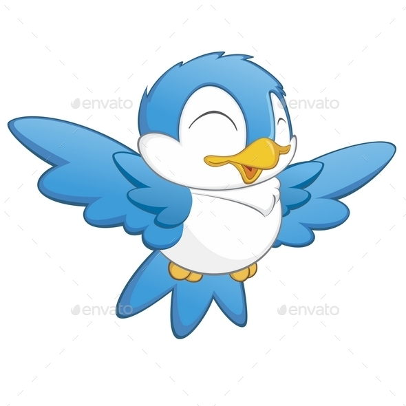 GraphicRiver Cartoon Bird 9991038