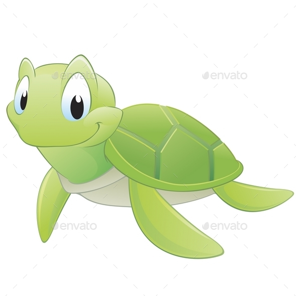 GraphicRiver Cartoon Turtle 9991241