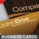 2 Modern Business Cards - GraphicRiver Item for Sale