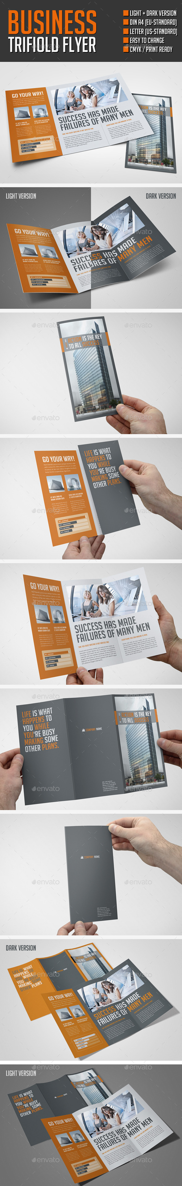 Business Flyer - Brochures Print Templates