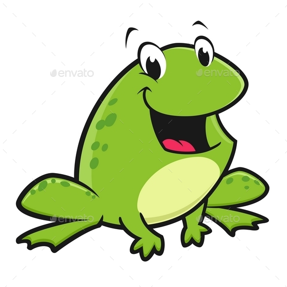 GraphicRiver Cartoon Funny Frog 9991377