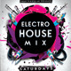 Electro House Mix Flyer - GraphicRiver Item for Sale