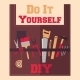 Do It Yourself Tools on Apron - GraphicRiver Item for Sale