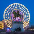 Place Bellecour statue of King Louis XIV, Lyon - PhotoDune Item for Sale