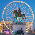 View of Place Bellecour by night - PhotoDune Item for Sale