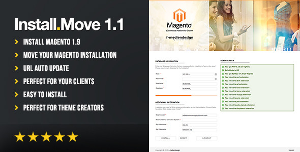 CodeCanyon Magento Installer and Moving Tool 9954970