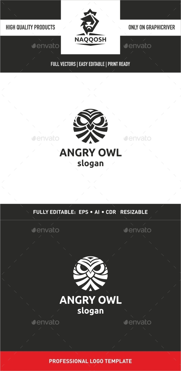 GraphicRiver Angry Owl 9991976